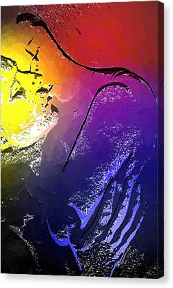 In The Heat Of The Moment Canvas Print by Stefan Kuhn
