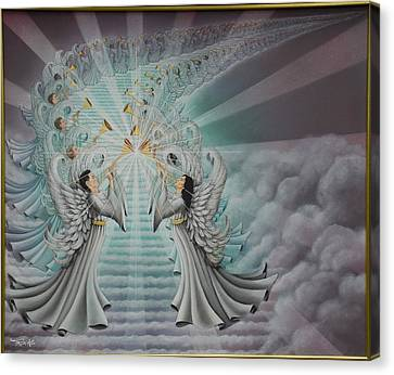 In The Twinkling Of An Eye Canvas Print by Ruth Gee