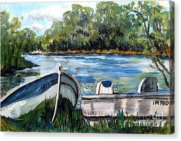 In173a5 Izaak Walton  Canvas Print by Charlie Spear
