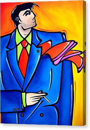 Incognito Original Pop Art Canvas Print by Tom Fedro - Fidostudio