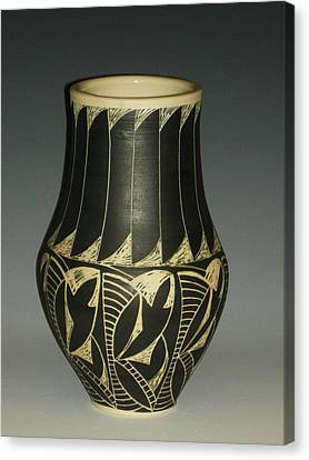 Indian Vase Canvas Print by Ken McCollum