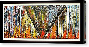 Inferno 2 Canvas Print by Robert Anderson