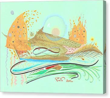 Infinite Planet Canvas Print by Ralf Schulze