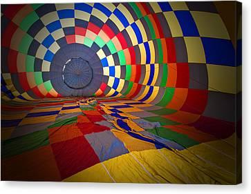 Inflating Canvas Print by Rick Berk