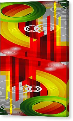 Information Superhighway Canvas Print by Angelina Vick