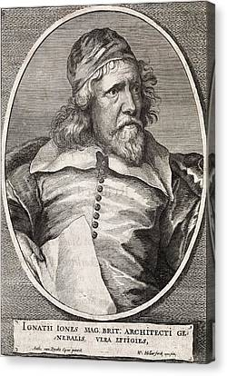 Inigo Jones, British Architect Canvas Print by Middle Temple Library