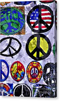 Inner Peace Canvas Print by Juls Adams