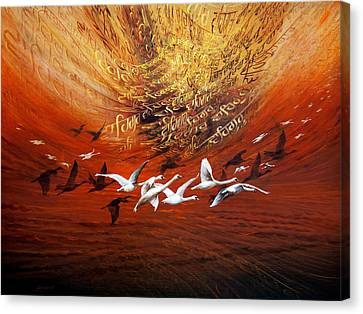 Inner World 03 Canvas Print by S Jaswant