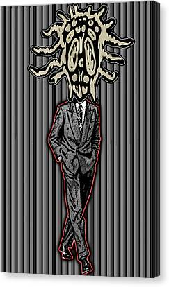 Insectoid Fashion 2 Canvas Print by Travis Burns