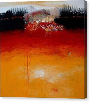 Inside Canvas Print by Jorgen Rosengaard