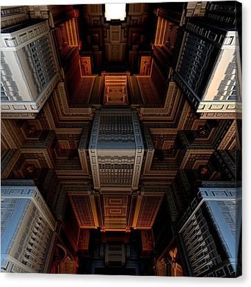 Inside The Box Canvas Print by Ricky Jarnagin