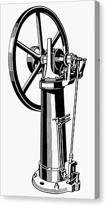 Internal Combustion Engine Canvas Print by Granger