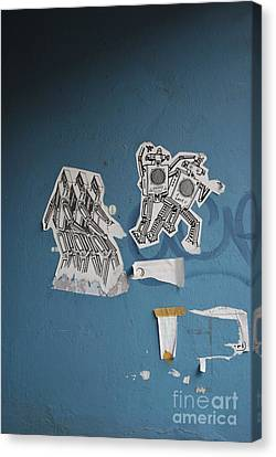International Robots Canvas Print by Jen Bodendorfer
