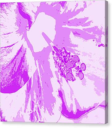 Intimate Purple Canvas Print by Keren Shiker