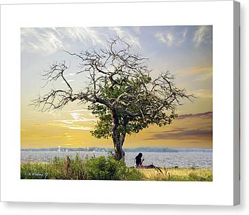 Introspective Canvas Print by Brian Wallace