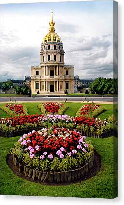 Invalides Paris France Canvas Print by Dave Mills