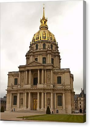 Invalides Paris France Canvas Print by Jon Berghoff