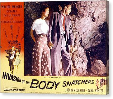 Invasion Of The Body Snatchers, Dana Canvas Print by Everett