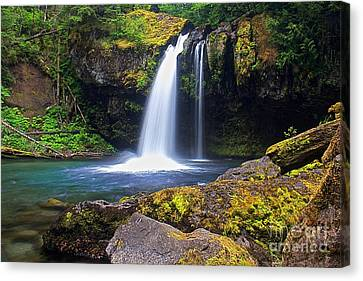 Iron Creek Falls Canvas Print by Marcus Angeline