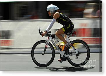 Ironman 2012 Flying By Canvas Print by Bob Christopher