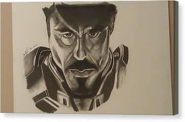 Ironman Canvas Print by Shawn Brooks