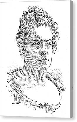 Isabel Florence Hapgood Canvas Print by Granger