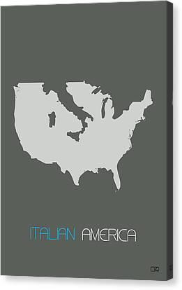 Italian America Poster Canvas Print by Naxart Studio