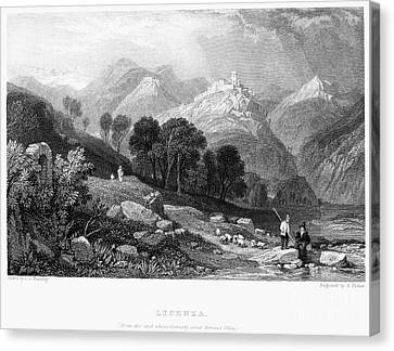 Italy: Licenza, 1833 Canvas Print by Granger