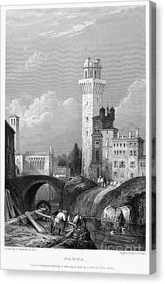 Italy: Padua, 1833 Canvas Print by Granger