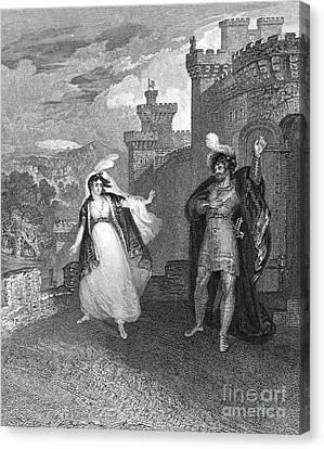 Ivanhoe, 1832 Canvas Print by Granger