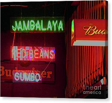 Jambalaya Canvas Print by Lizi Beard-Ward
