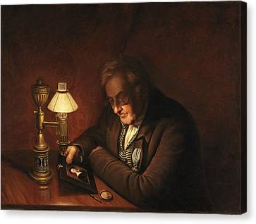 James Peale Canvas Print by Charles Willson Peale