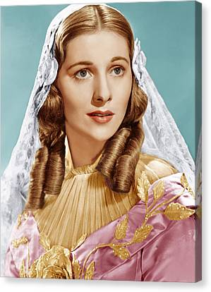 Jane Eyre, Joan Fontaine, 1943 Canvas Print by Everett