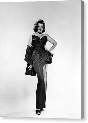 Jane Russell, Ca. Early 1950s Canvas Print by Everett
