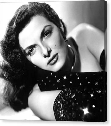 Jane Russell, Ca. Late 1940s Canvas Print by Everett