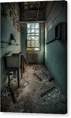 Janitors Closet Canvas Print by Gary Heller