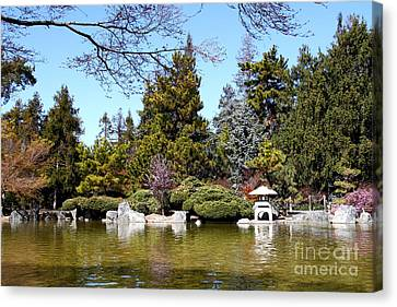Japanese Friendship Garden . San Jose California . 7d12782 Canvas Print by Wingsdomain Art and Photography