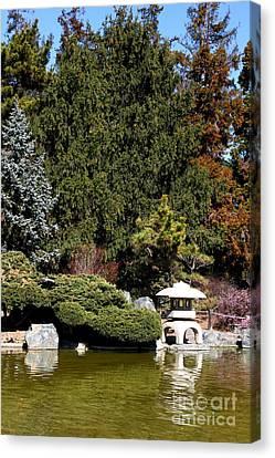 Japanese Friendship Garden . San Jose California . 7d12785 Canvas Print by Wingsdomain Art and Photography