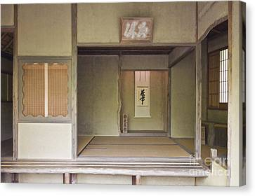 Japanese Tea Room Canvas Print by Rob Tilley