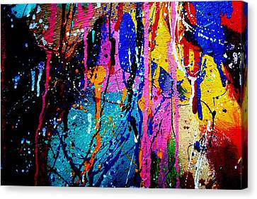 Jazz Process 53 Canvas Print by John  Nolan