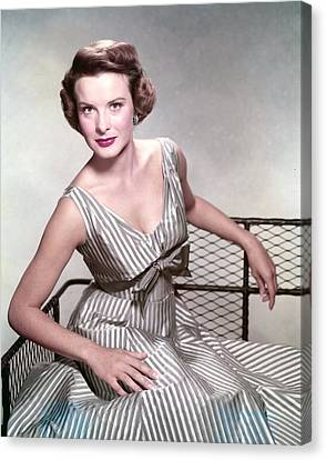 Jean Peters, In The Film, A Man Called Canvas Print by Everett