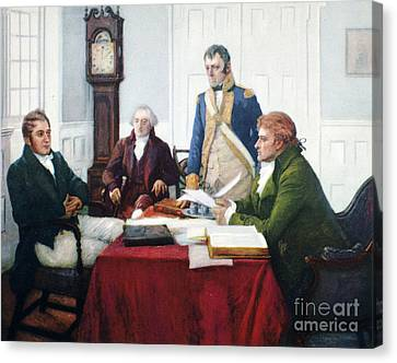 Jefferson & Dupont, 1801 Canvas Print by Granger