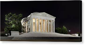 Jefferson Memorial Canvas Print by Metro DC Photography
