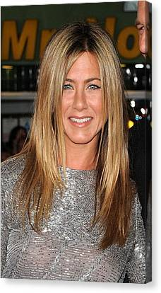 Jennifer Aniston At Arrivals For Love Canvas Print by Everett