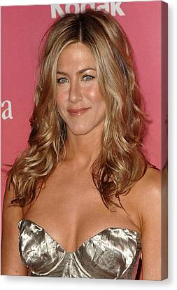 Jennifer Aniston At Arrivals For Women Canvas Print by Everett