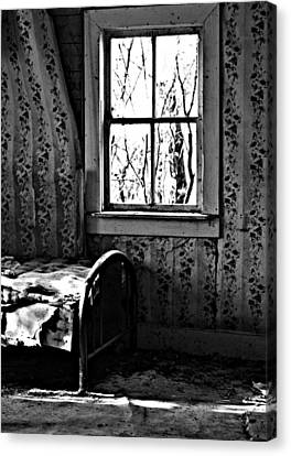 Jennys Room Canvas Print by JC Photography and Art