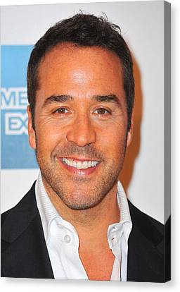 Jeremy Piven At Arrivals For Angels Canvas Print by Everett