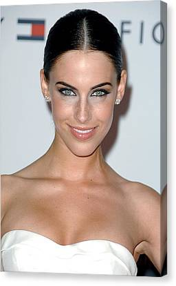 Jessica Lowndes At Arrivals For 17th Canvas Print by Everett