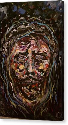 Jesus Christ Canvas Print by David Nagel