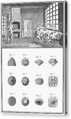 Jewelers Workshop Canvas Print by Granger